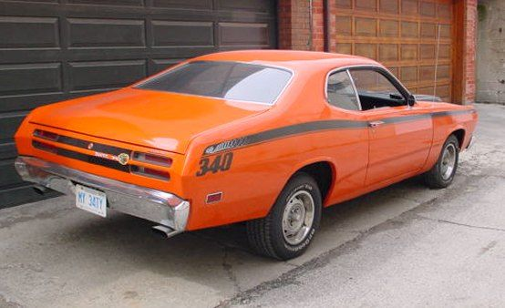 1970 Plymouth Duster 340 mine never, ever looked half that good and it was white. Could see the road through the floorboards.