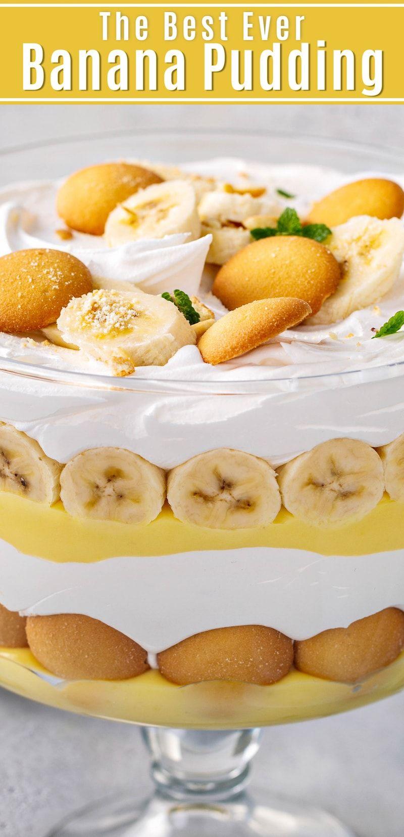 Easy Banana Pudding Recipe | The Best Homemade Banana Pudding!
