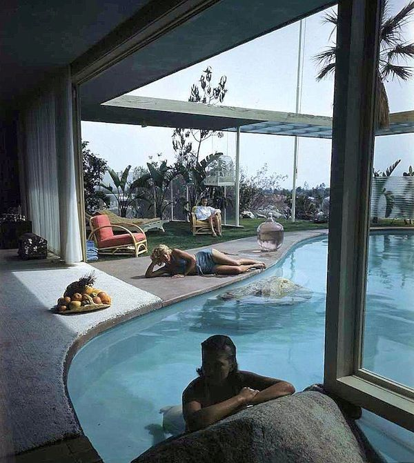 California Small Houses With Pools: Architect Albert Frey Designed The Raymond Lowey House In