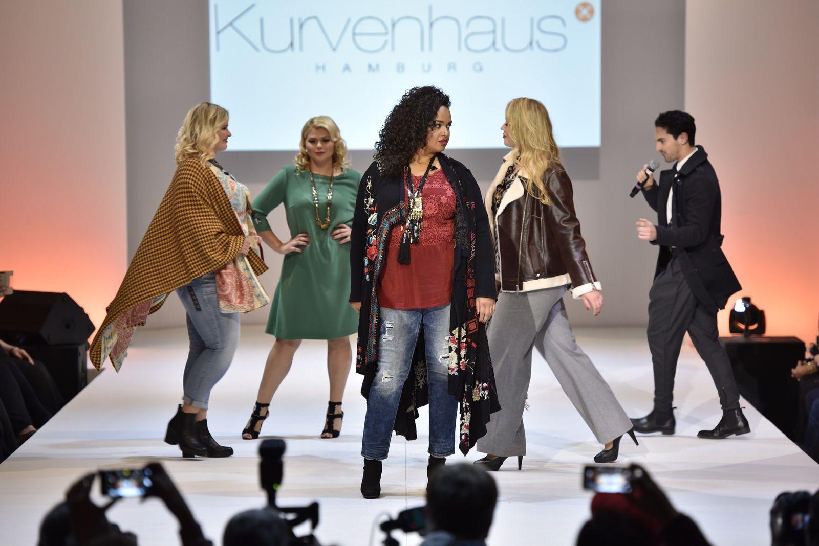 Plus Size Mode in voller Vielfalt auf den Plus Size Fashion Days 2016. Mode in Großen Größen vom Kurvenhaus Hamburg.