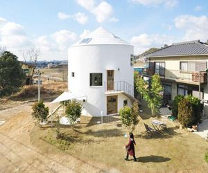 Cylindrical-house-in-chiharada-