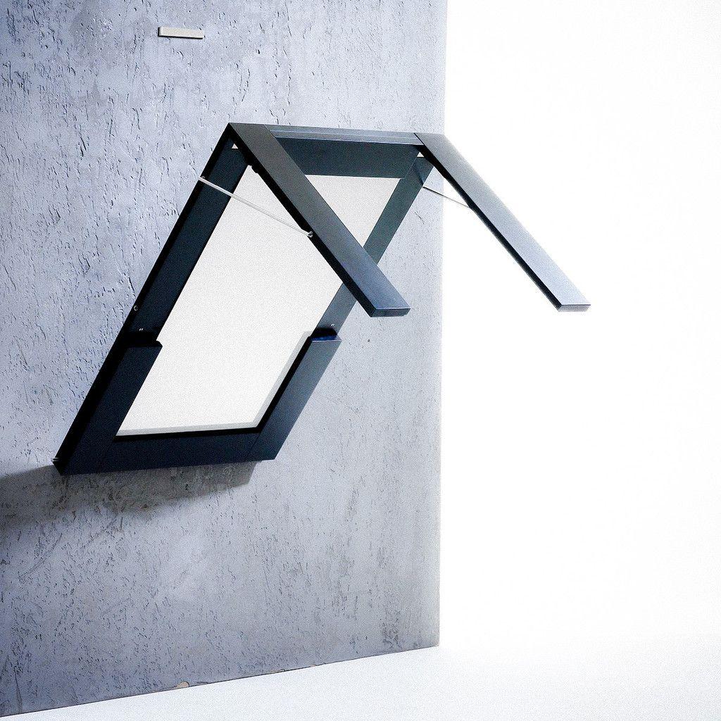 Spisebordet, Mirror Table Fra IVY Design Rummer Både Bord Og Spejl. Bordet  Monteres Op