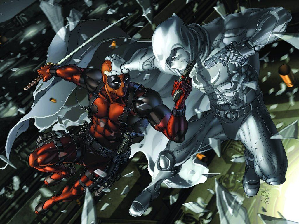 Deathstroke Vs Deadpool