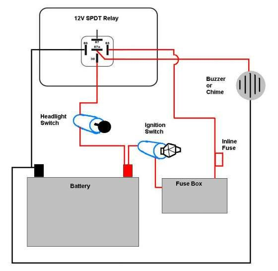Motorcycle Horn Relay Diagram And Motorcycle Light Wiring Diagram Schematics Online Motorcycle Lights Motorcycle Wiring Motorcycle Headlight