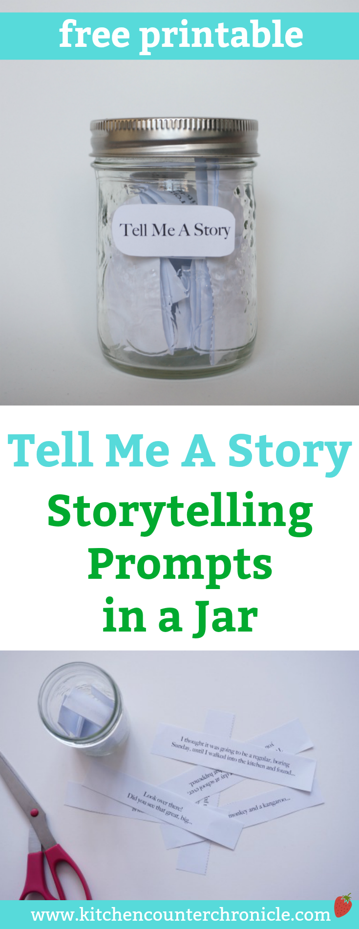 Printable Storytelling Prompts for Kids : A Creative Writing Tool for Kids