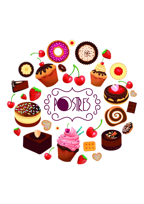 Separador Pastry Logo Desserts Drawing Dessert Logo