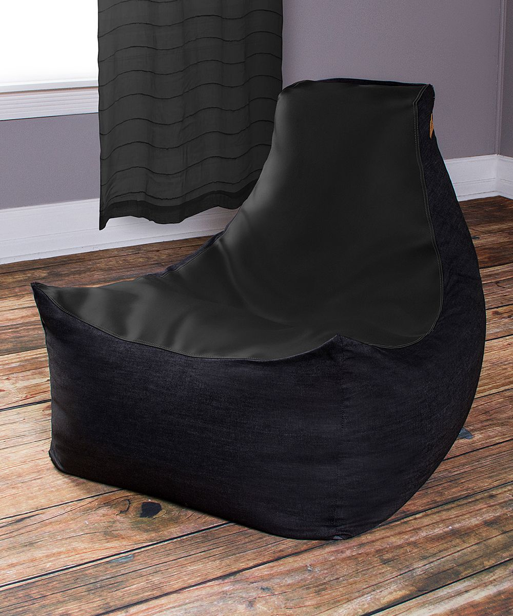 Black Jaxx Pixel Bean Bag Gamer Chair