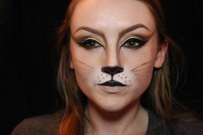 Step 10 Halloween Cat Makeup Tutorial | Halloween makeup ...