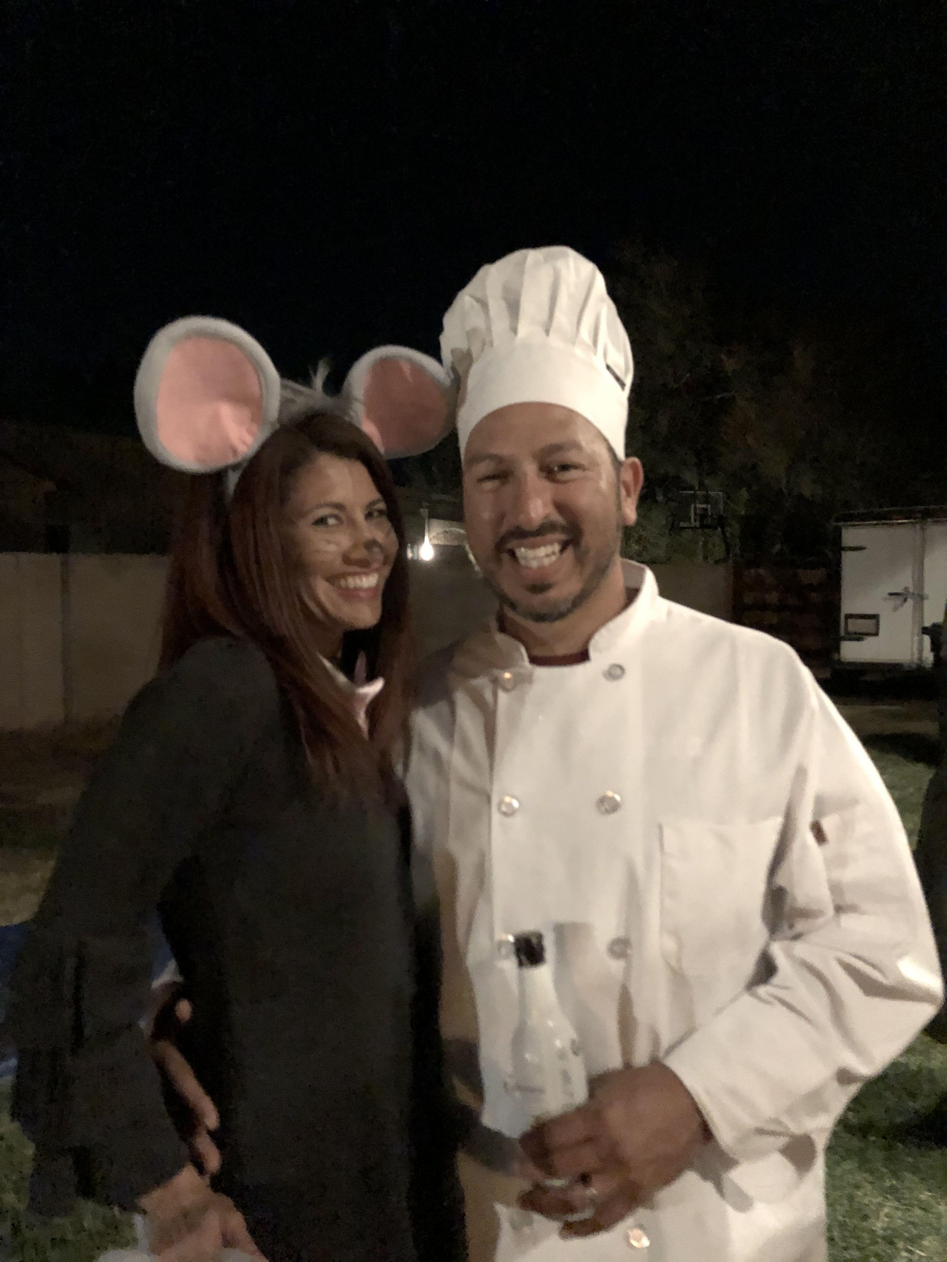 Remy And Chef Linguini From Ratatouille Linguini Ratatouille Beanie