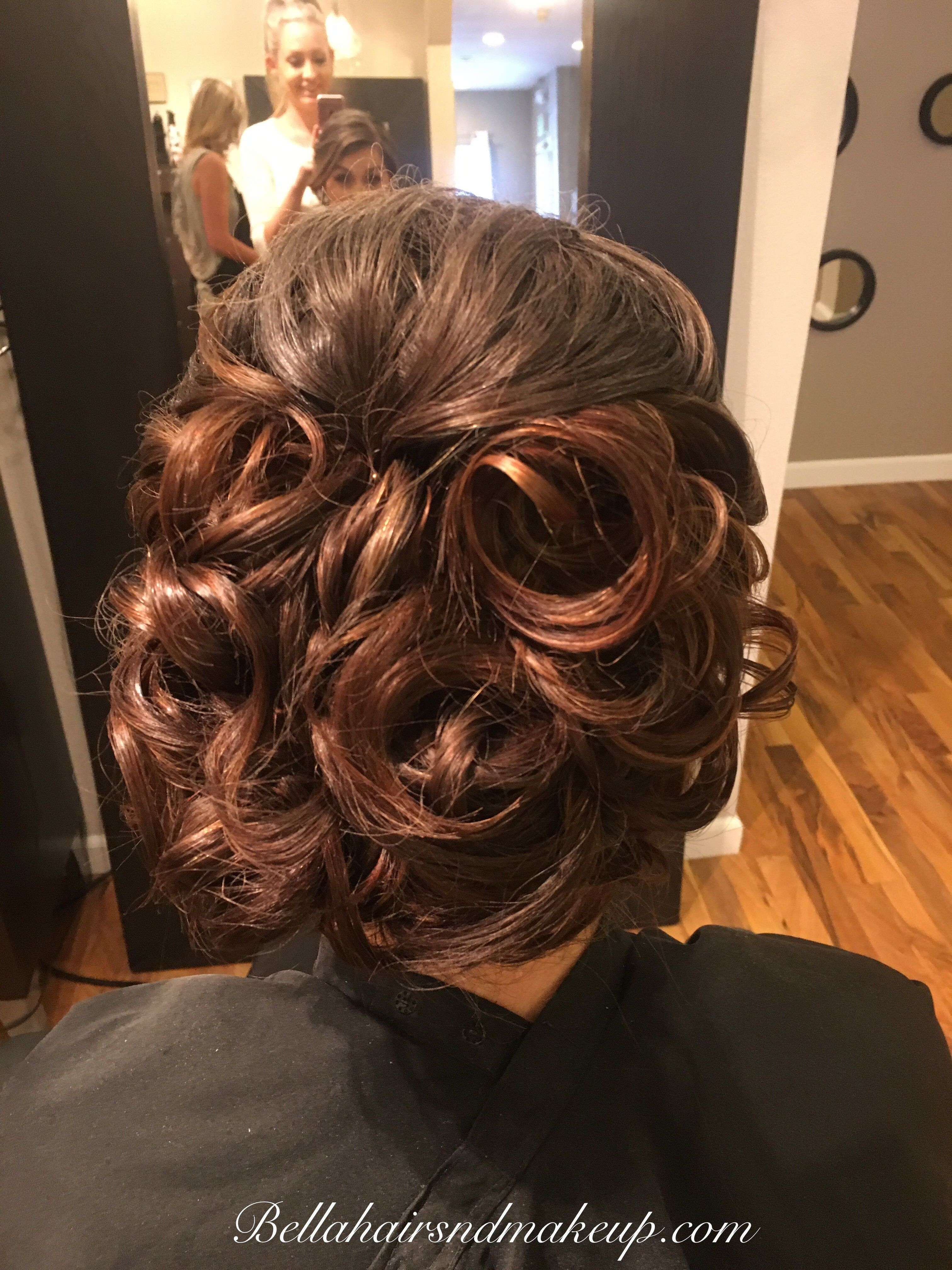 Whitney Renee Anderson Orme updo hair  makeup