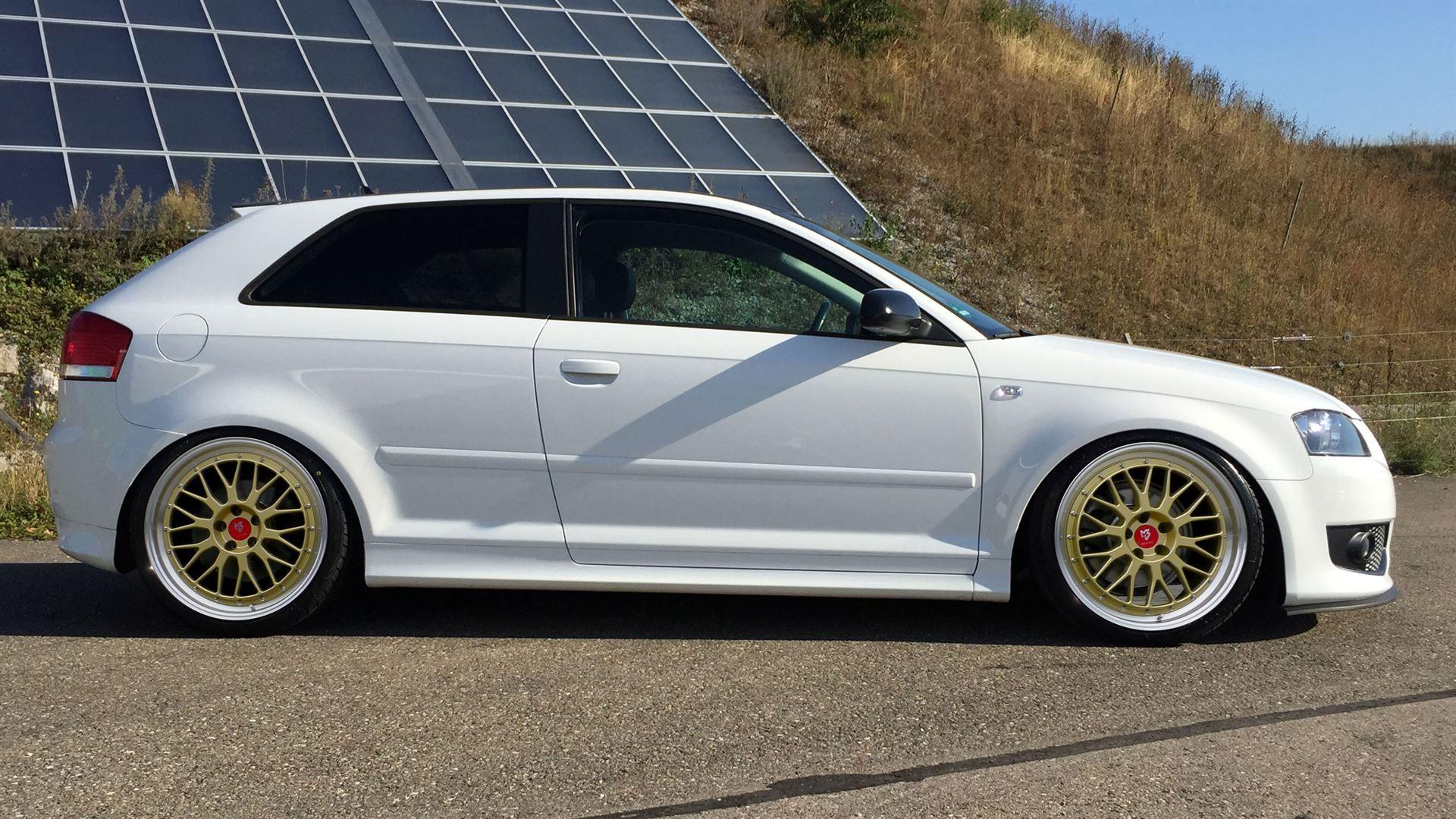 Audi A3 S3 8p Sommerrader Lv1 19 Gold Glanz Nexen Di 2020