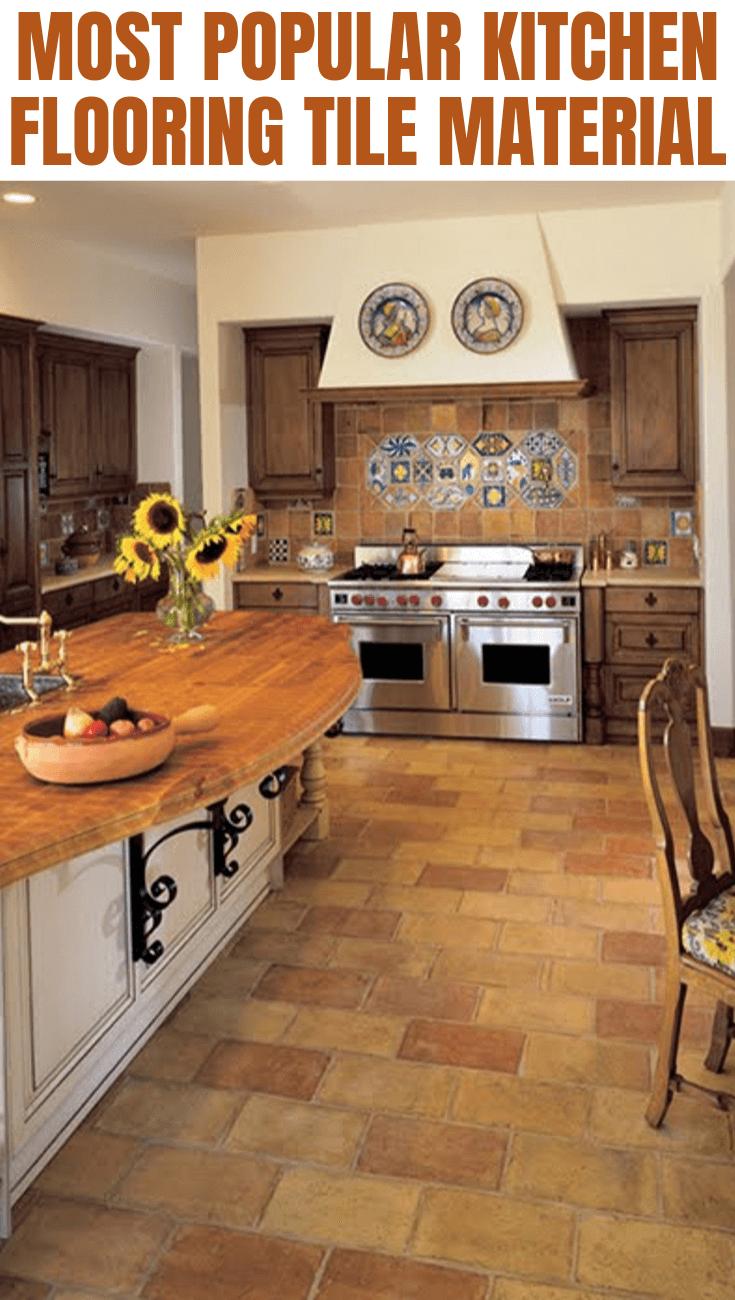most popular kitchen flooring tile material kitchen flooring popular kitchens kitchen floor tile on kitchen interior tiles id=95347