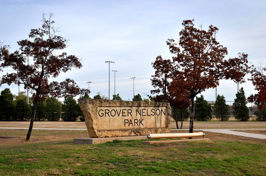 Grover Nelson Park Abilene 2070 Zoo Lane Abilene Tx Baseball Softball Field Benches Creek Lake Dog Park Pavillion Picni Winter Scenery Picnic Area Abilene