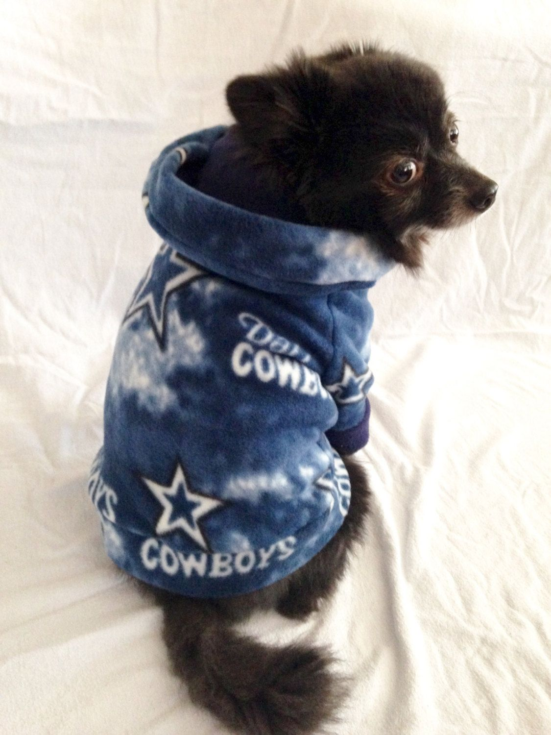 cheap for discount 1440c 4decc Dallas Cowboys Dog Hoodie by LizzyAndMeekoShop on Etsy ...