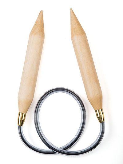 "Jumbo U.S. size 50/25mm 32"" Circular Needle   Quick knits ..."