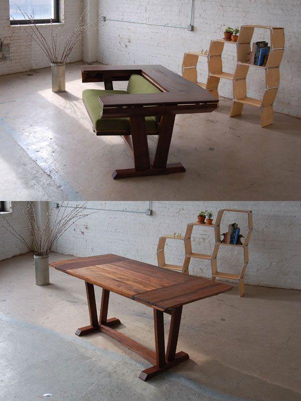 tavolo a scomparsa-idea-originale-poltrona | Casuccia | Pinterest ...