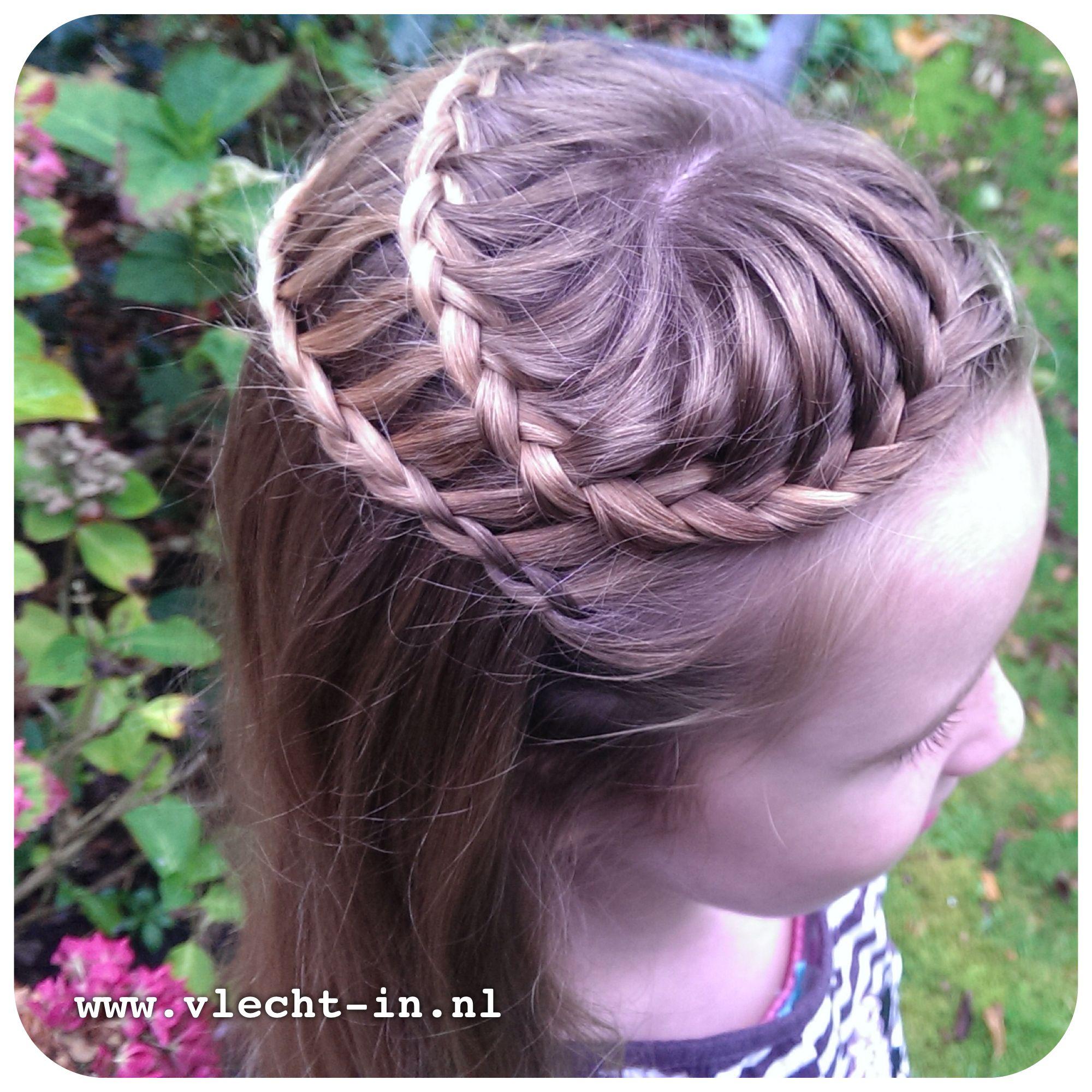 Waterfall braid and ladder braid  Hairstyles I Love Half Updos