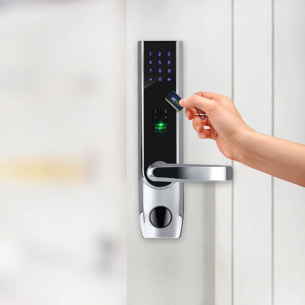 Zkteco Tl400b Fingerprint Bluetooth Lock Smarthome Doors Doorhardware Bts Smartcity Hardware Ho Fingerprint Door Lock Smart Door Locks Bluetooth Lock