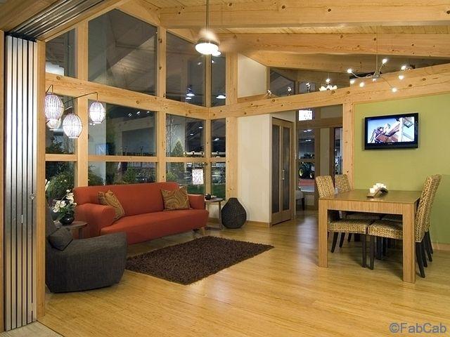 FabCab Tiny House 850 Sq Ft   Interior