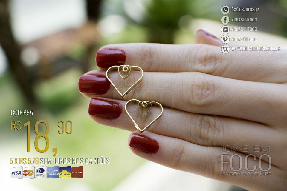 6207ad8e9d10e Pin de Joias em Foco em Produtos   Pinterest   Você é especial ...