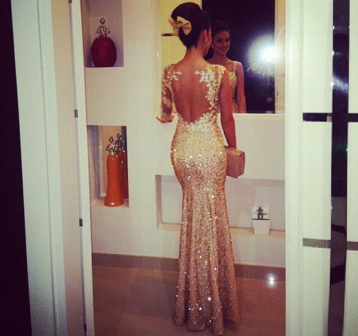 prom dress | 2017Prom | Pinterest | Open back wedding, Art designs ...