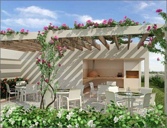 Pergolas de troncos casas pinterest troncos - Troncos para jardin ...