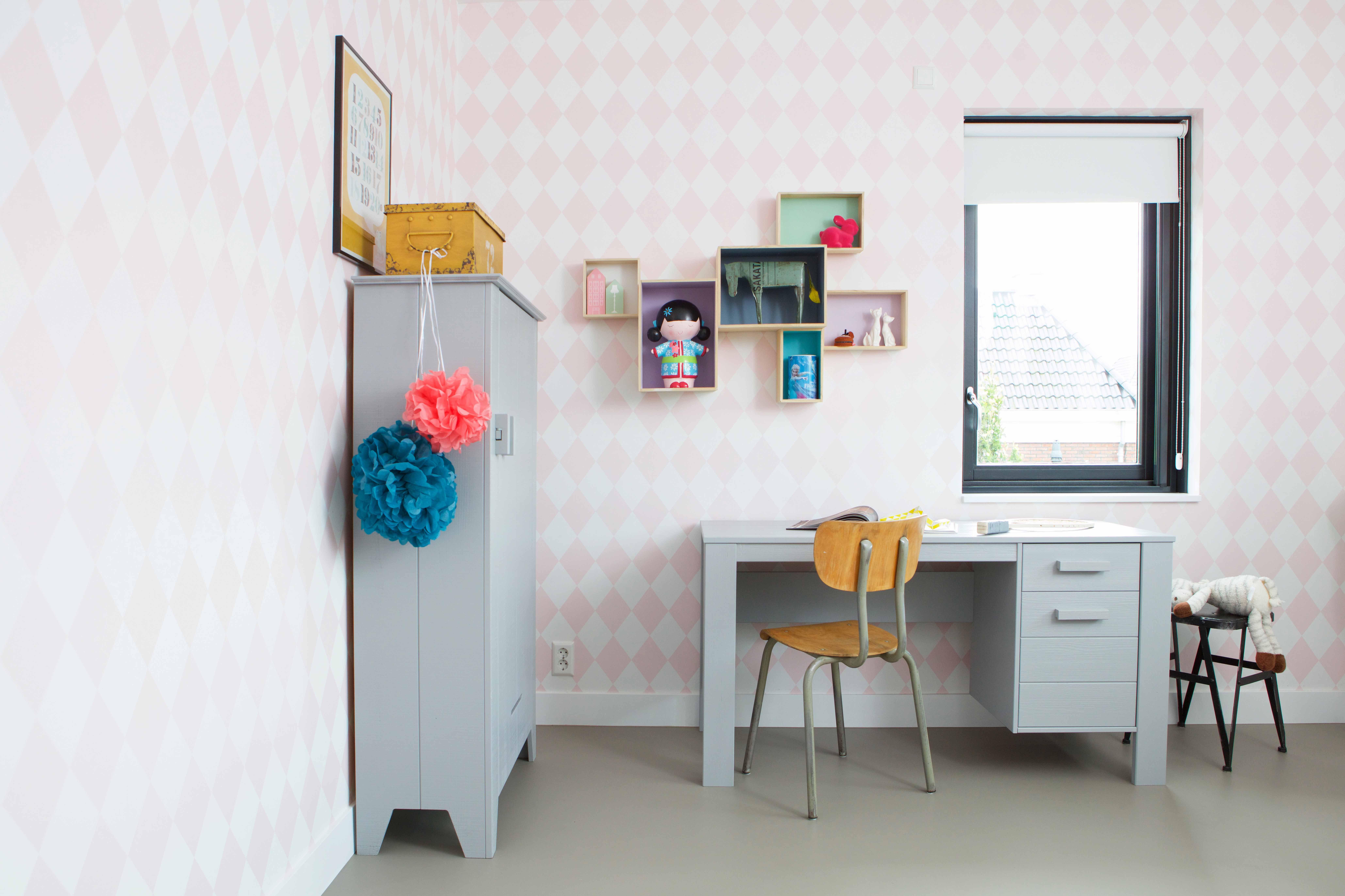 Kast - Wardrobe Gijs & Bureau - Desk Dennis By