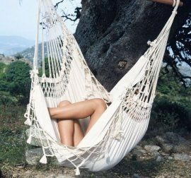 d brasil chair   mara  on hammocks hammock chairs are great in the garden when you have a big tree      rh   pinterest