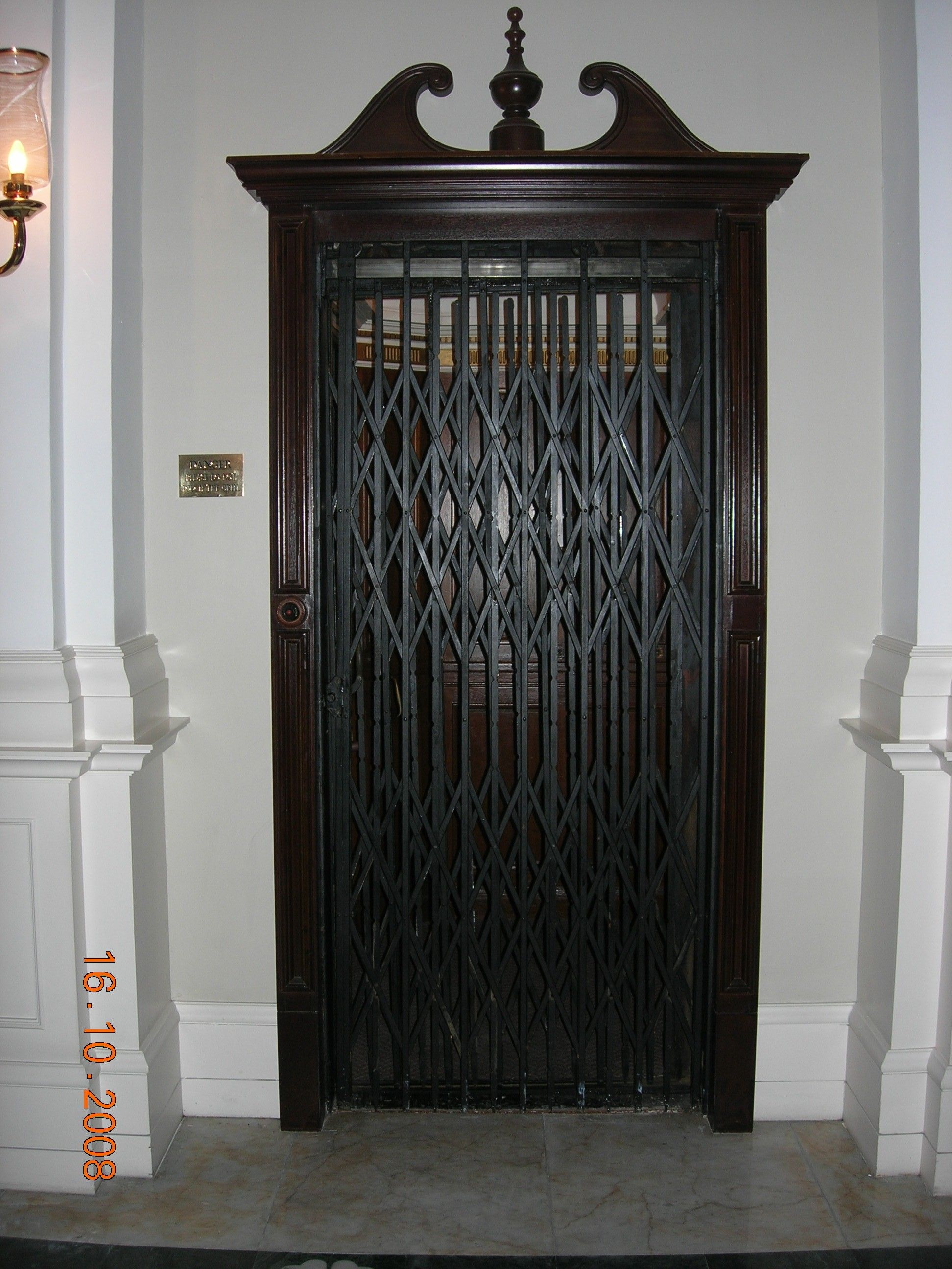 Old Metal Lift Door Google Search Awd Elevators