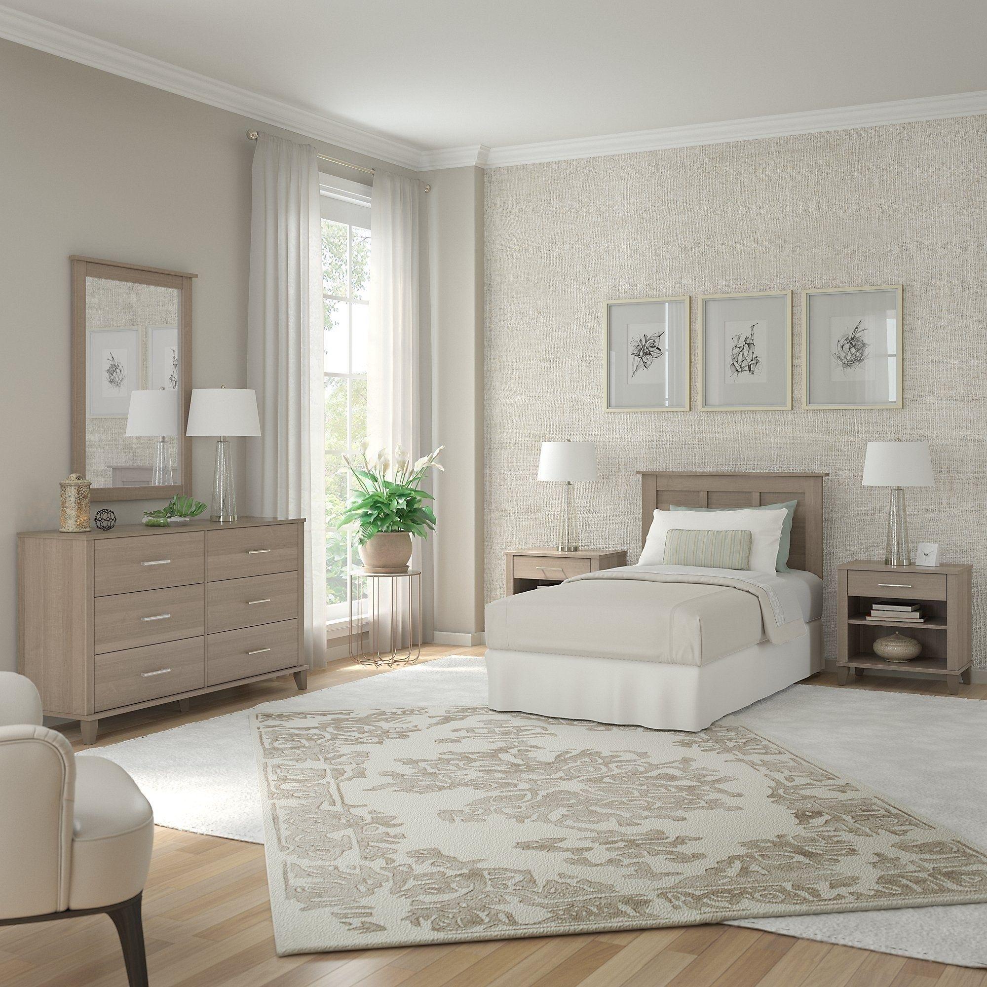 Best Somerset Twin Size 5 Piece Bedroom Set By Bush Furniture 640 x 480