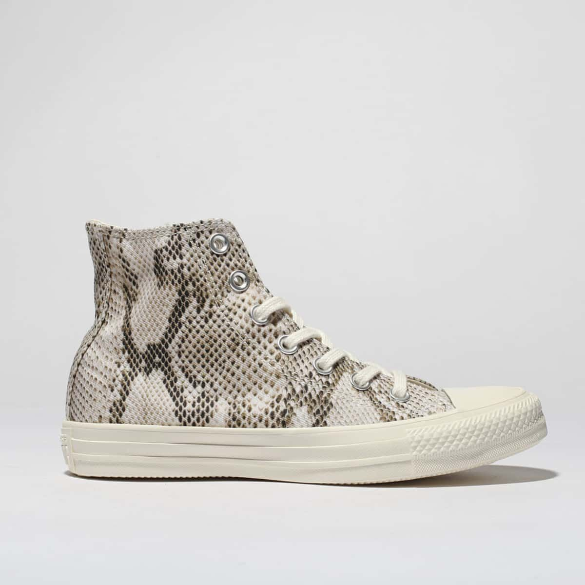 423261a4d84c0 womens natural converse all star snake hi trainers