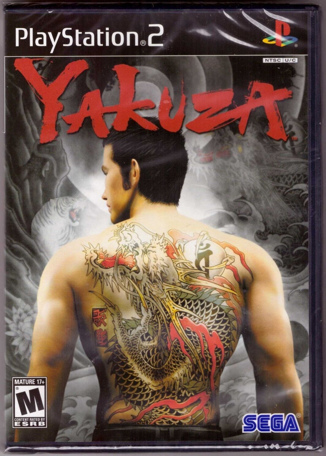 Details about Yakuza 1 Original Black Label [PlayStation