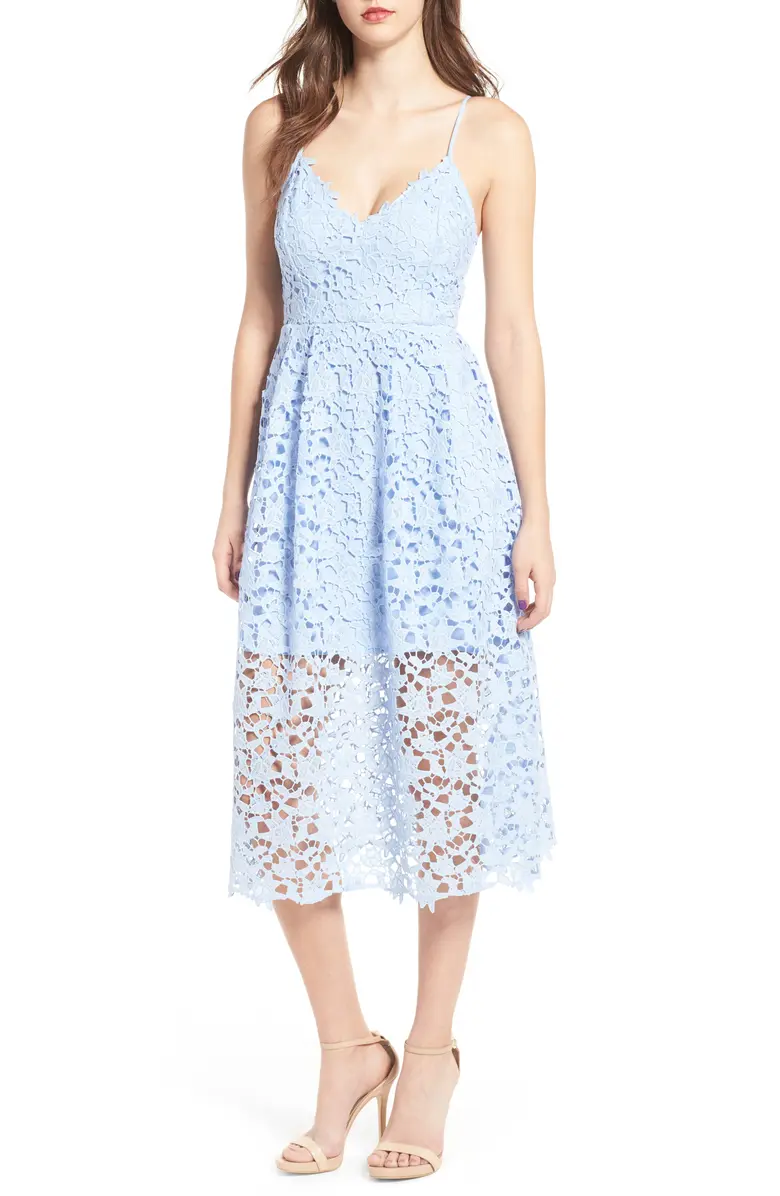 37+ Astr the label lace midi dress blue trends