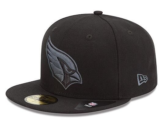 edd1baf1a92a38 NEW ERA x NFL「Arizona Cardinals Black Grey Basic」59Fifty Fitted Baseball  Cap | Strictly Fitteds
