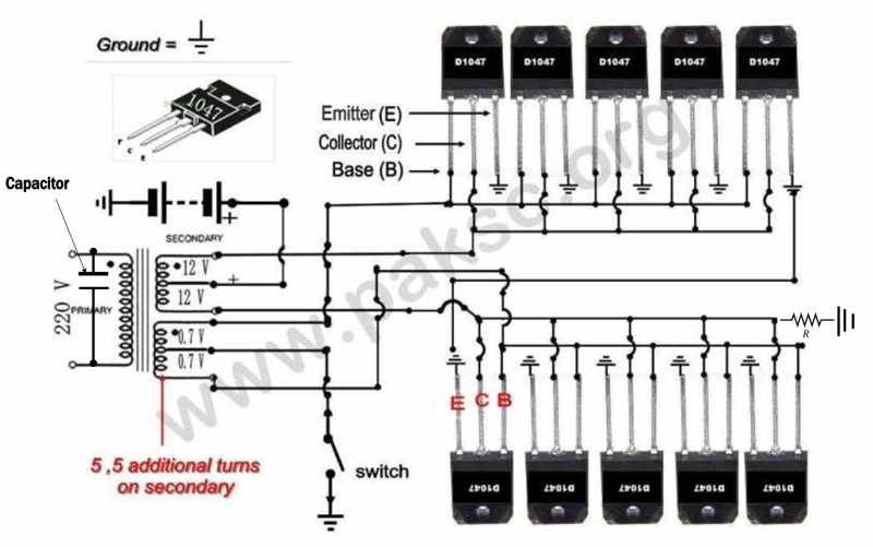 How to Build a 12 VDC to 220 VAC Power Inverter (UPS