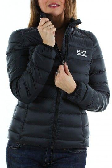 Manteau Noire Armani Ea7 Doudoune Emporio Femme Accueil 5qYU44