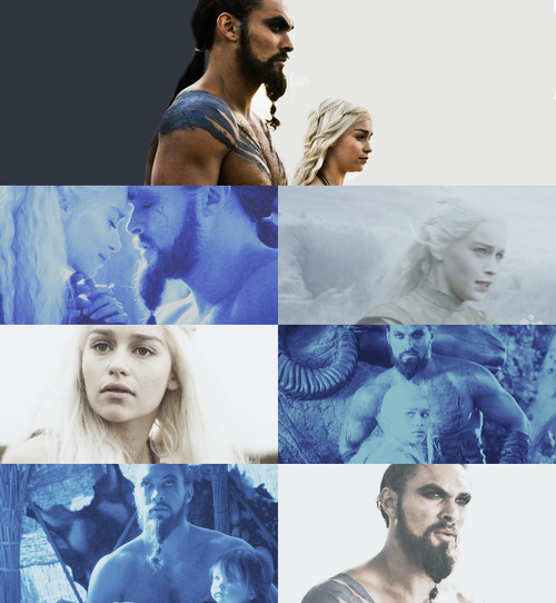 Daenerys & Drogo are perfection! All that was missing was a vin diesel ass grab ;)
