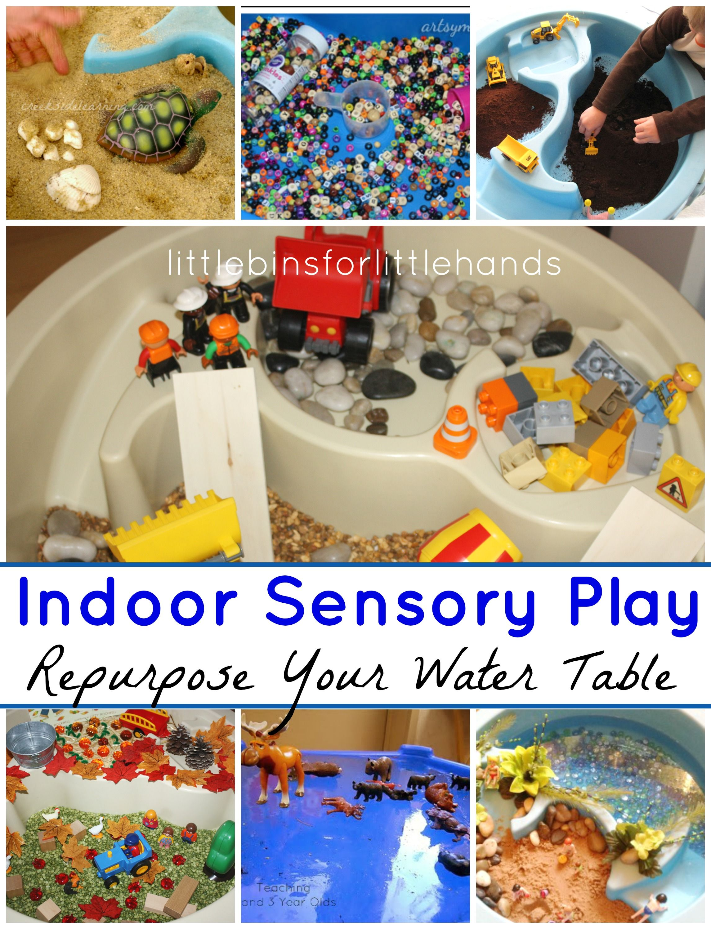 Indoor Water Tables Sensory Activities For Preschool Play