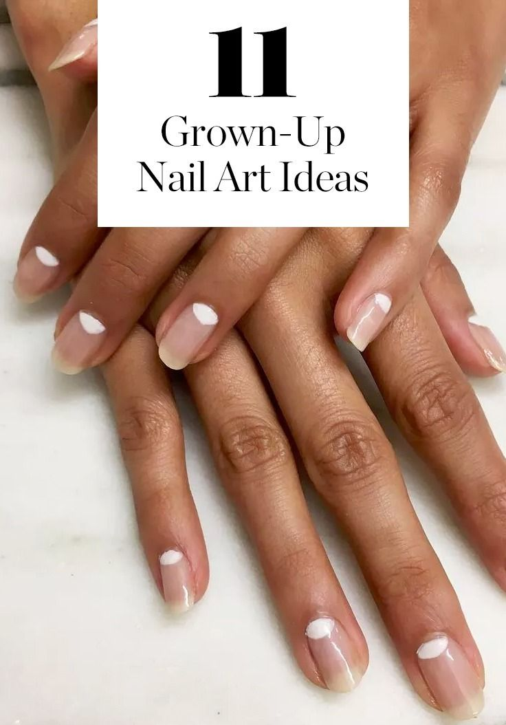 11 New Grown Up Nail Art Ideas To Try This Spring Crazy Nail Art