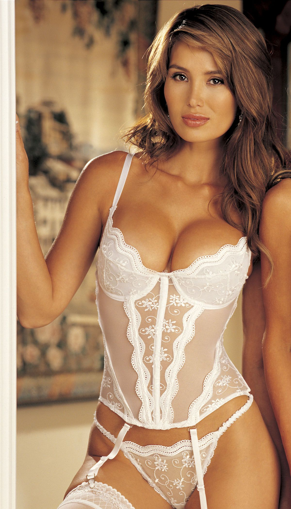 Padded Push Up Bridal Bustier