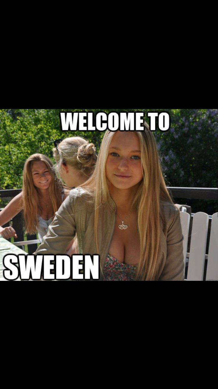 Sexy girls from sweden