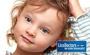 Don't drag her to a salon. LiceDoctors comes to your home.