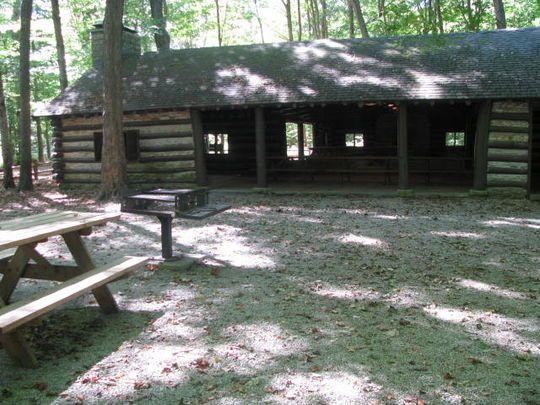Beech Grove Shelter Mccormick S Creek State Park Cabin Hunting Cabin Creek