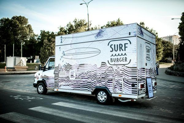 SURF BURGER ID By Gosia Stolinska Via Behance