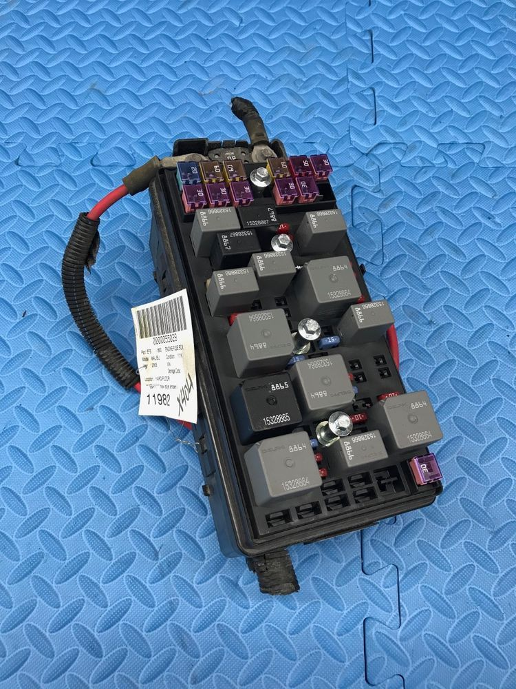 Genuine GM Part Main Wire Wiring Junction Fuse Block Relay Panel ...