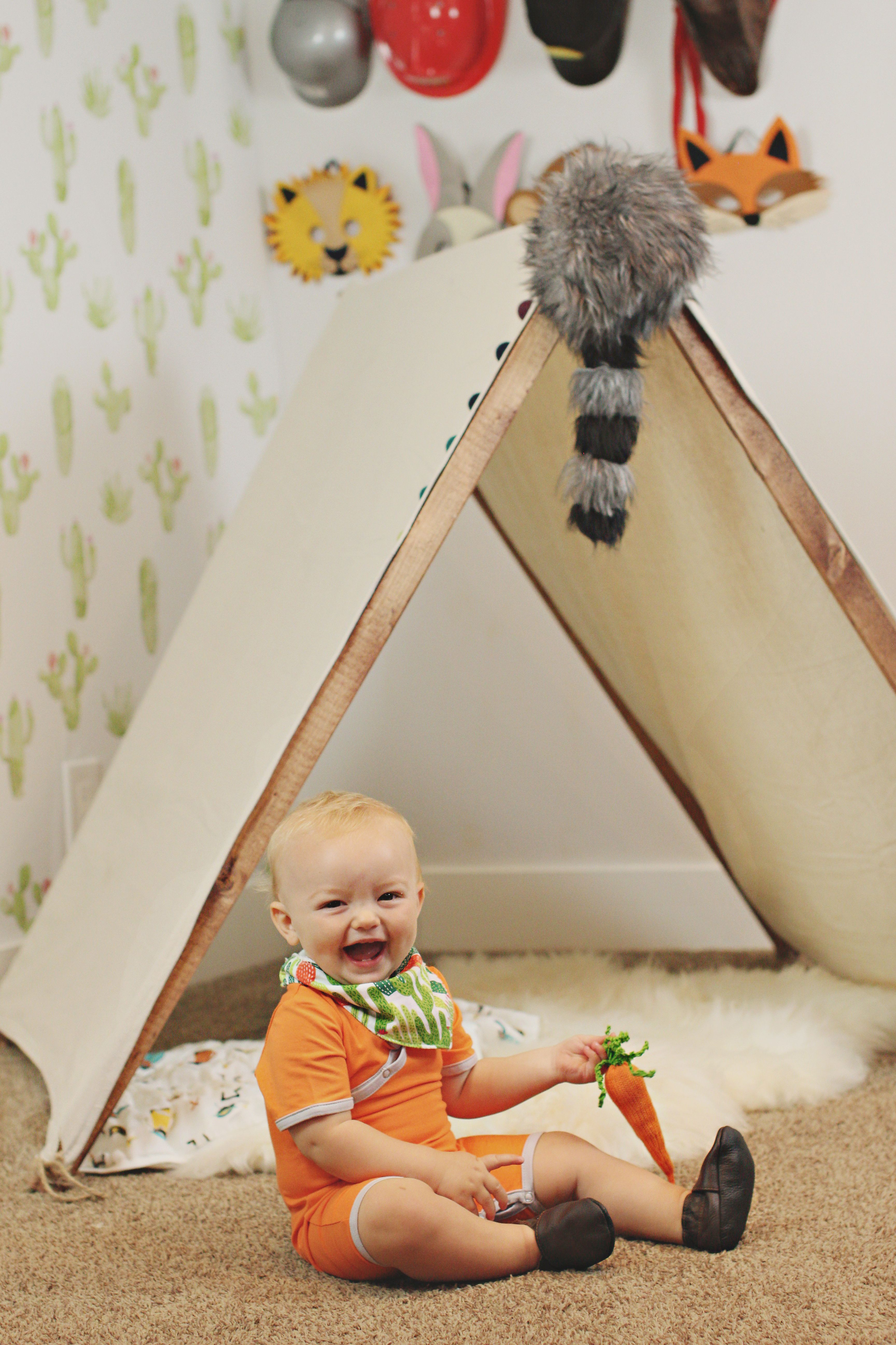 Animal Where the wild things are themed playroom by The