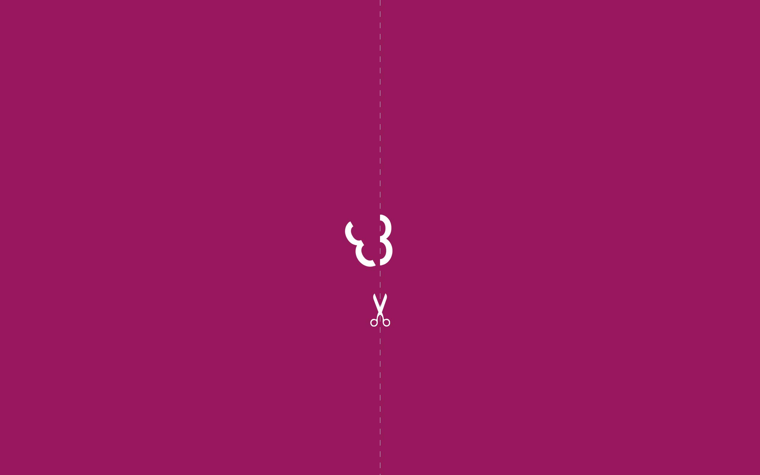 divided minimalist wallpaper violet | Minimalist wallpaper ...