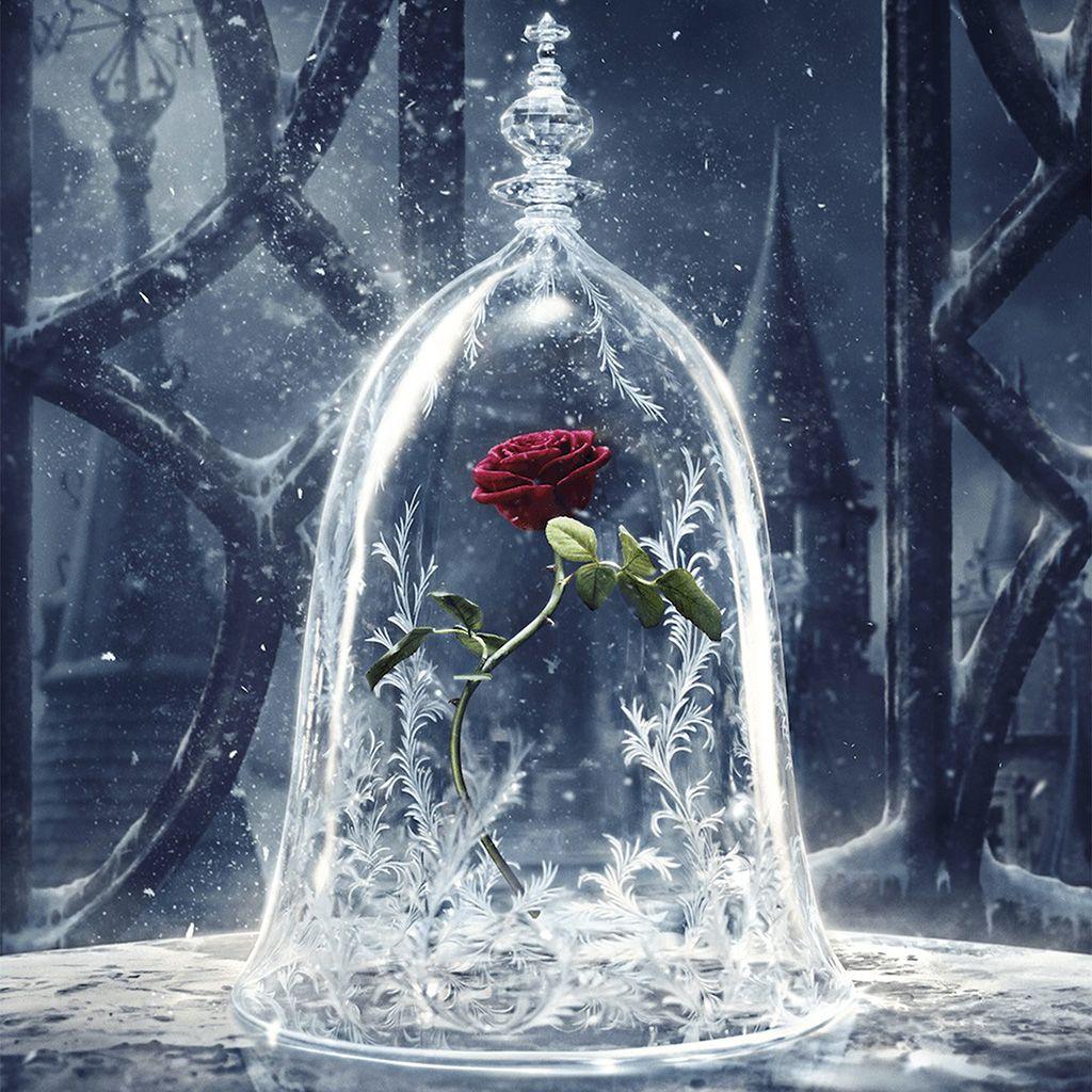 Disney Beauty Beast Art Illustration Ipad Wallpaper Disney Beauty And The Beast Beauty And The Beast Disney Art