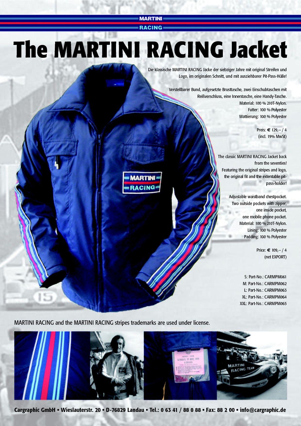 Martini Racing Gilet Vest Dark Blue