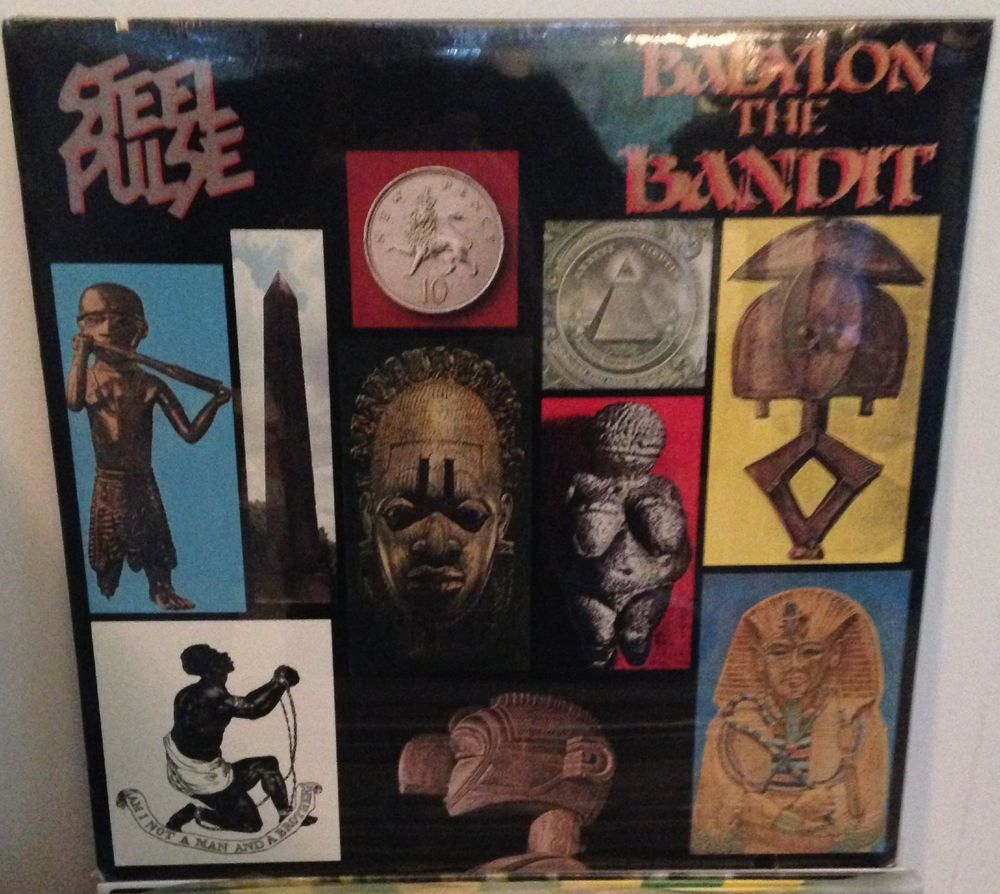 Steel Pulse Babylon The Bandit Lp 1985 Roots Reggae Sealed